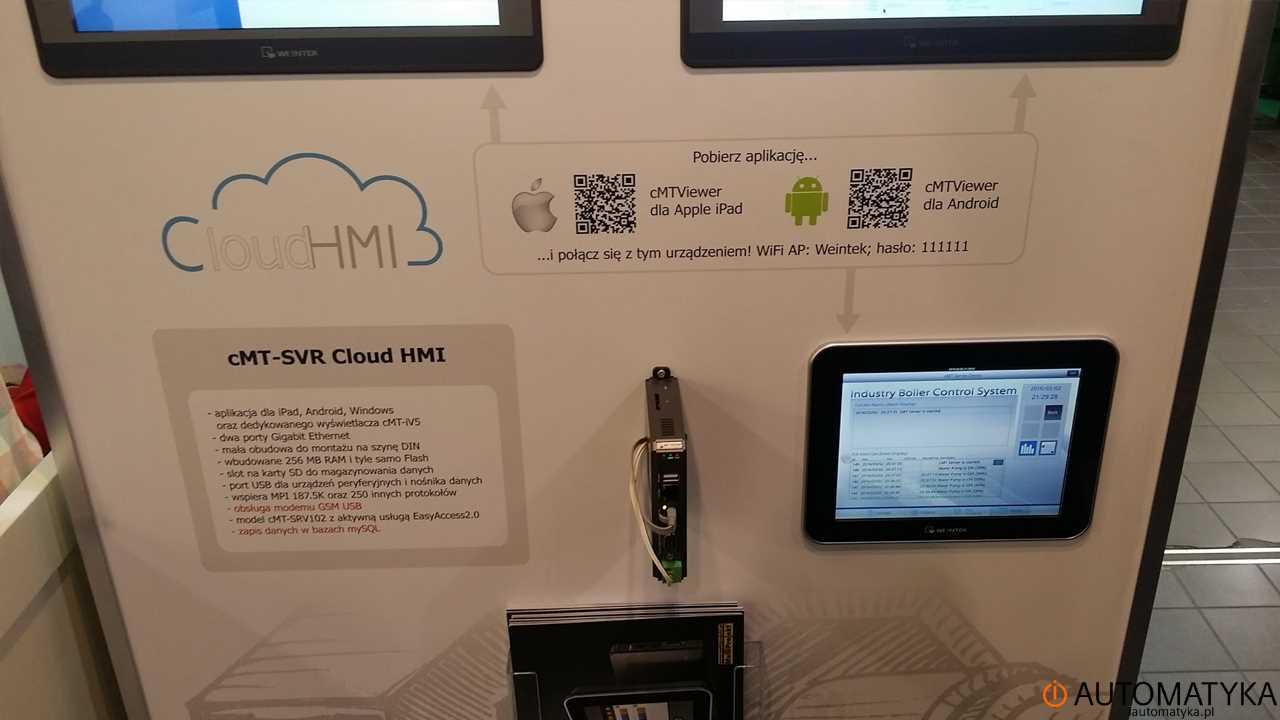 Automaticon 2016 cMt-SVR Cloud HMI iautomatyka.pl