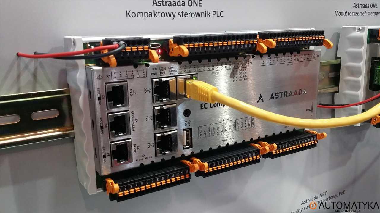 Automaticon 2016 sterownik PLC astrada ONE iautomatyka.pl