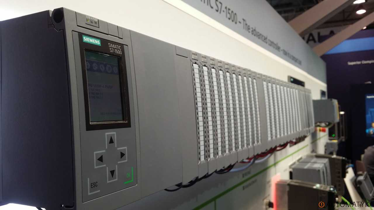 Sterownik PLC S7-1500 automaticon 2016