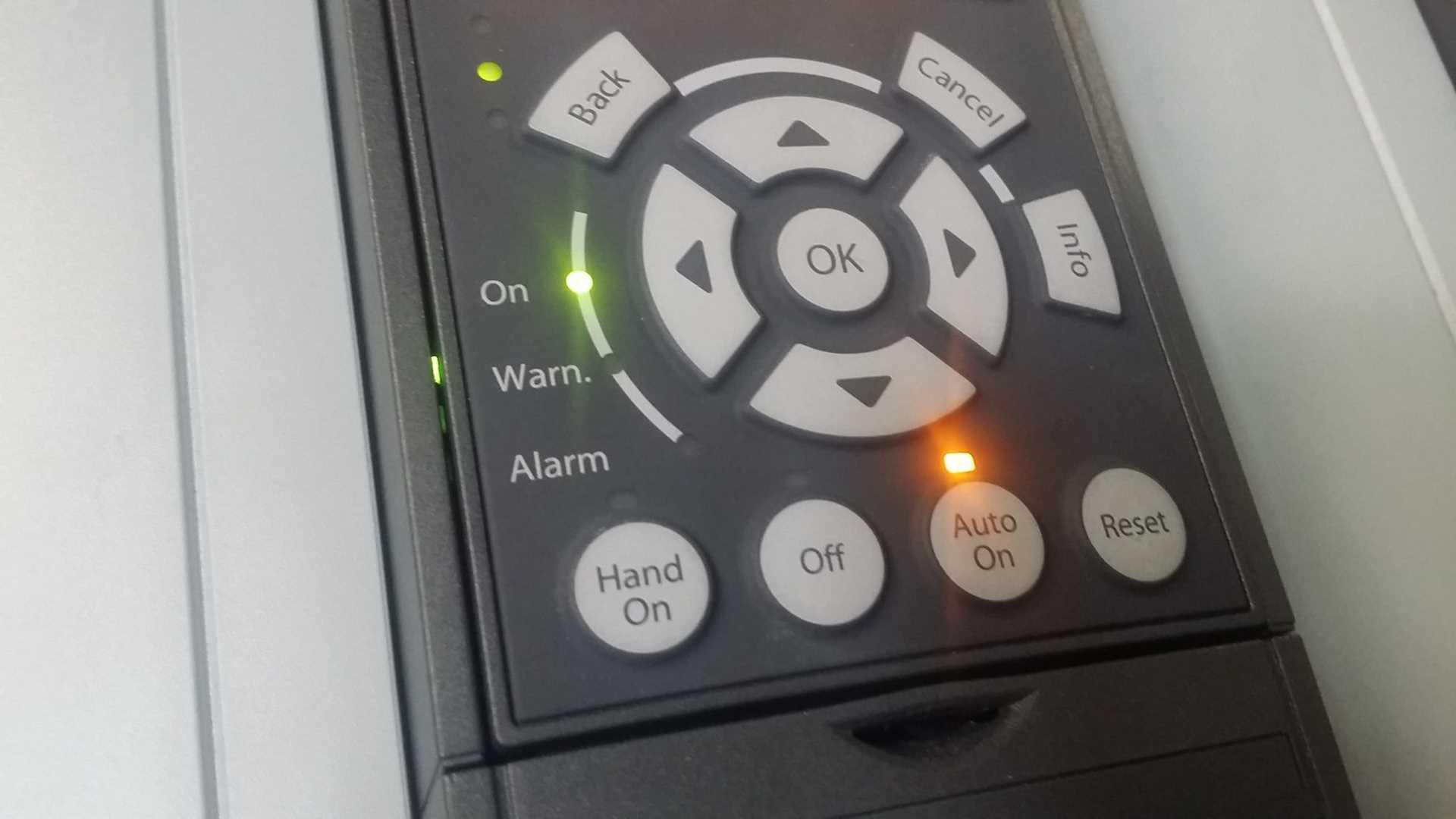 Przyciski Falownika Danfoss VLT