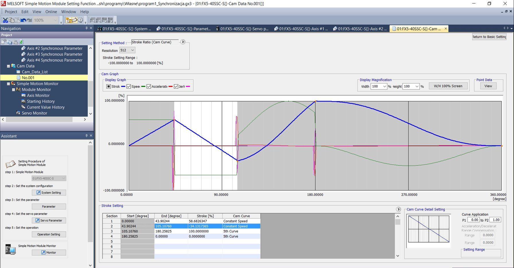 Kurs Automatyki #6 3 Serwomechanizmy Mitsubishi Electric - funkcje