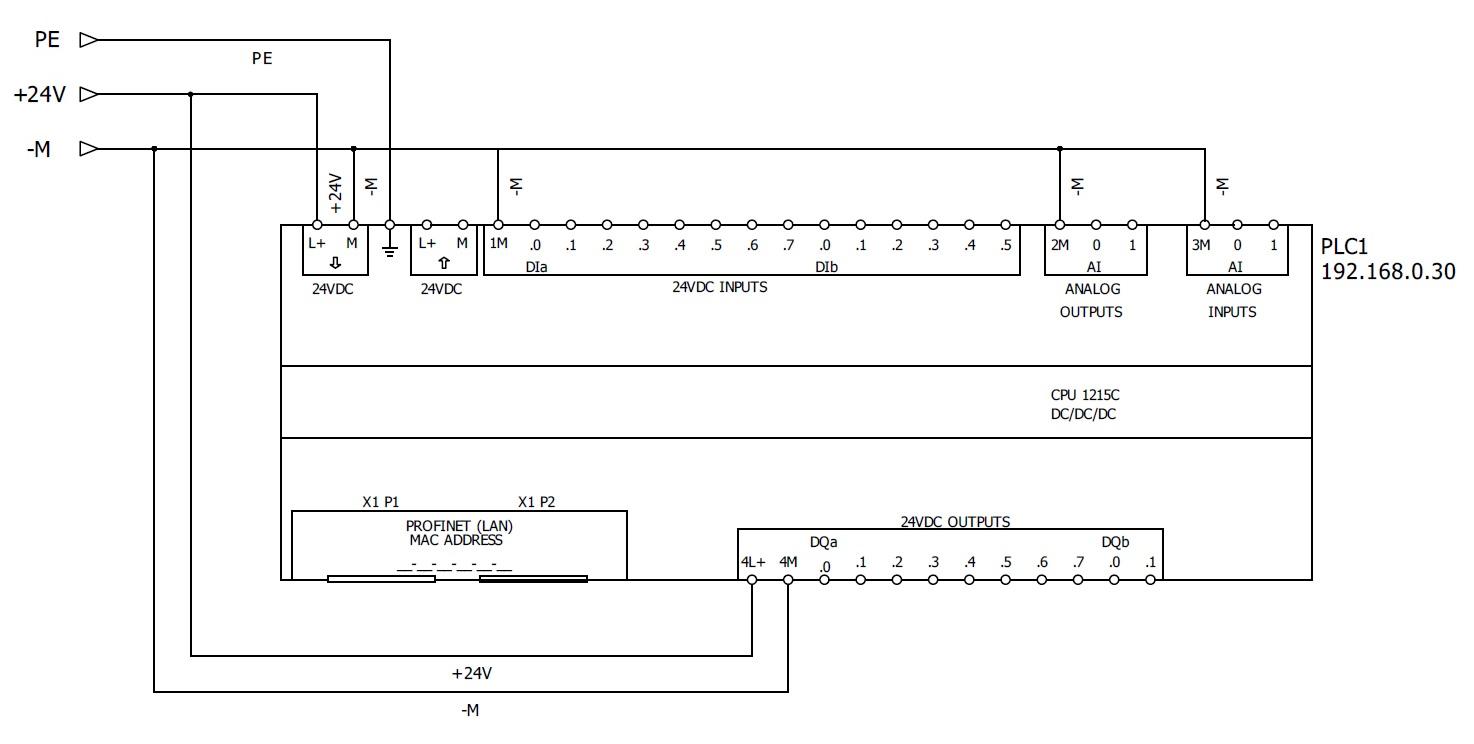 Sterowanie silnikiem krokowym przez Siemens    S7      1200