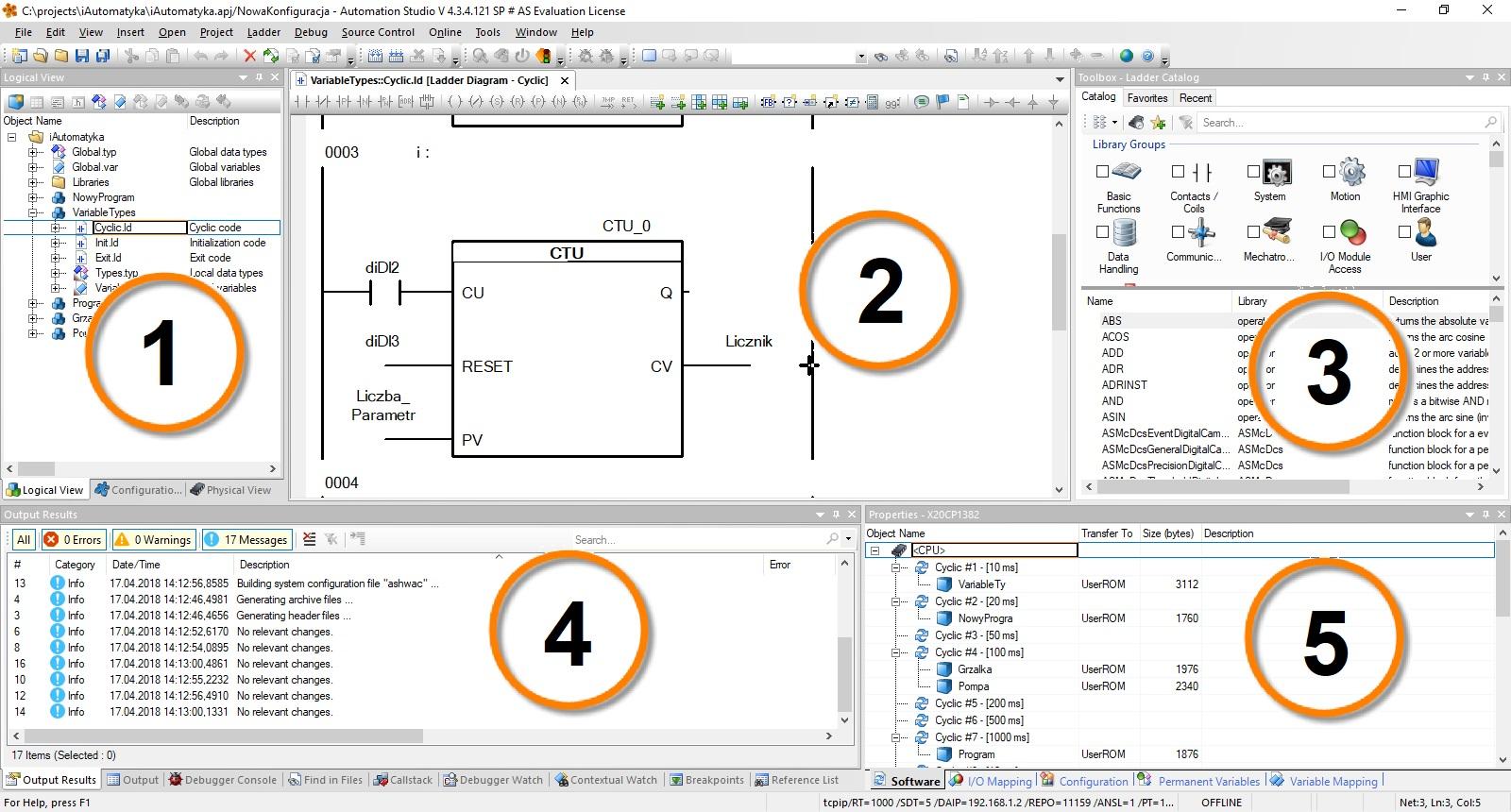 Co To Jest Automation Studio Recenzja Oprogramowania Od Br Oneline Electrical Diagram Studiotm Obszar Roboczy Graficzny Interfejs Uytkownika W