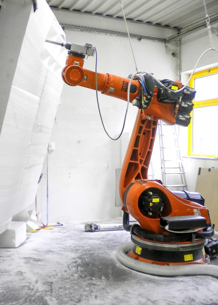Frezowanie wielkoformatowe robotem KUKA.