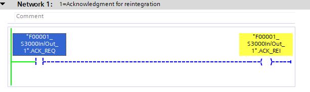 Potwierdzenie reintegracji skanera S3000