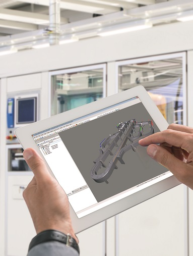 Narzędzie Scene Viewer firmy B&R wykorzystuje dane CAD do wizualizacji ruchów w 3D