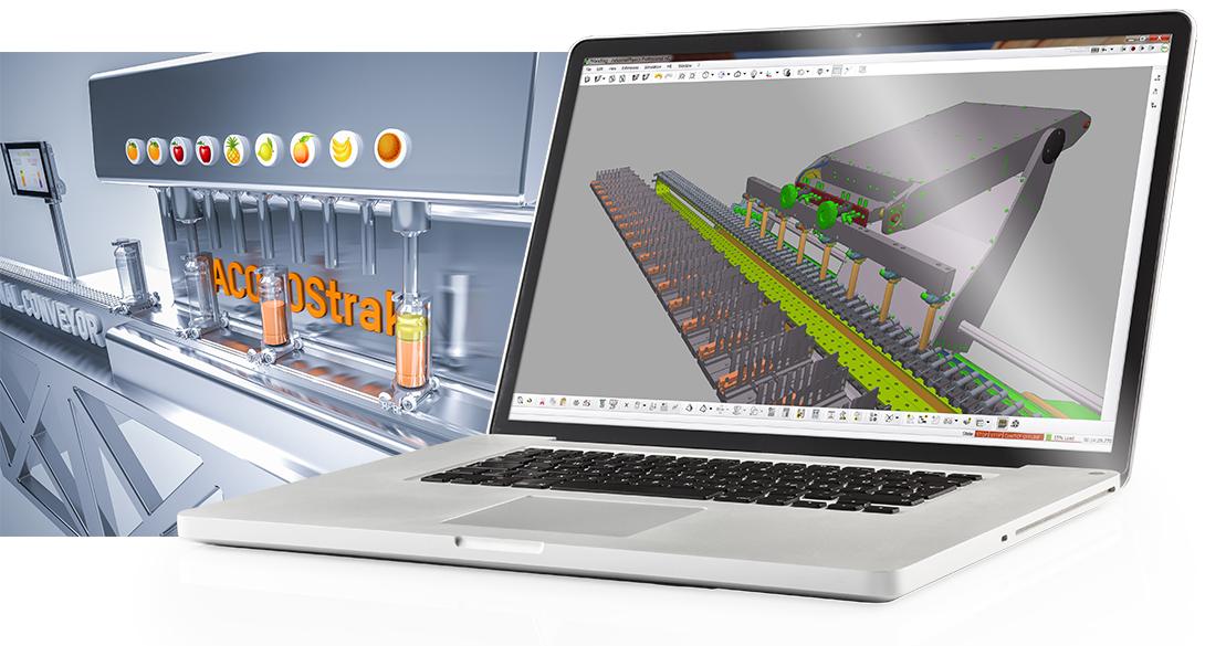 W Automation Studio cyfrowy bliźniak zapewnia programistom istotną korzyść – mogą oni uruchomić wirtualny model na komputerze PC, a następnie wykorzystać tę samą aplikację do testów na realnej maszynie.