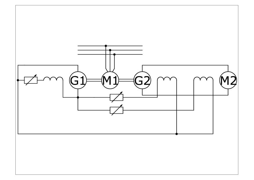 Schemat układu Leonarda