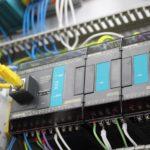 Sterownik PLC + Moduł wejść i wyjść analogowych + moduł wejść temperaturowych