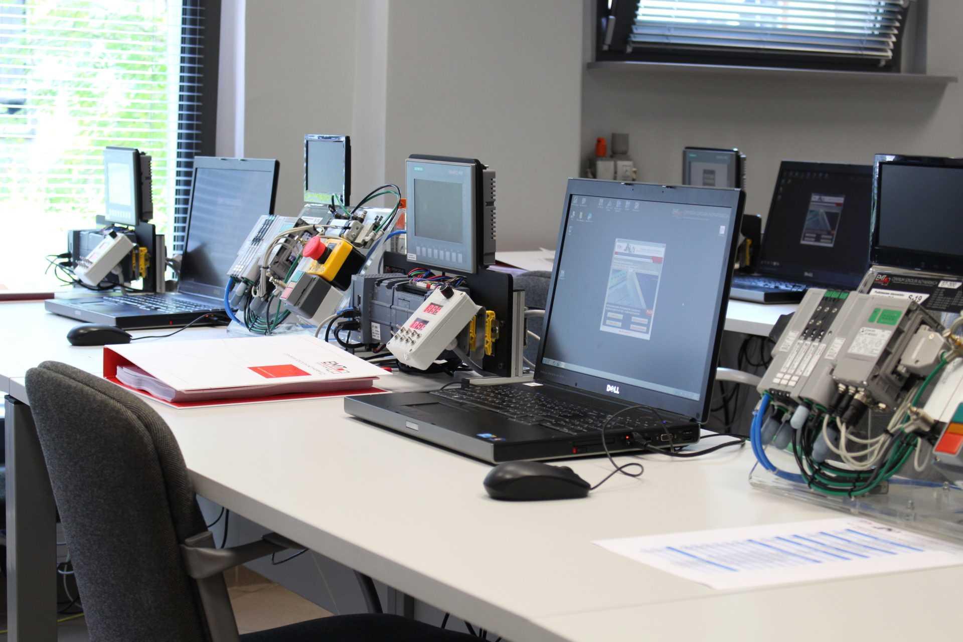 Sala szkoleniowa emt-systems iautomatyka