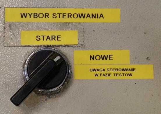 Przełącznik sterowania pomiędzy Simatic S5 a S7