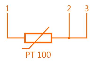 Czujnik temperatury PT100 - trójprzewodowy